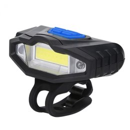 Bicycle Accessories Canada - Cycling Light USB Rechargeable Bike Headlight Front Rear Cycling Light Bicycle Handlebar Lamp For Accessories
