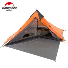 $enCountryForm.capitalKeyWord NZ - Naturehike Spire One Man Shelter Camping Tents 20D Nylon Outdoor Waterproof Hiking Lightweight Double Layer Winter Tent 1.6kg