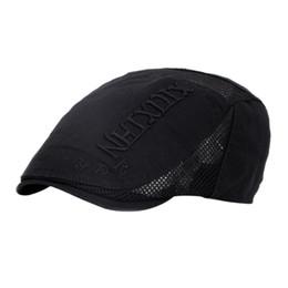 Discount beret breathable - Outdoor Men Women Golf Hat Breathable Forward hat men's visor beret thin section ladies duck tongue Cap