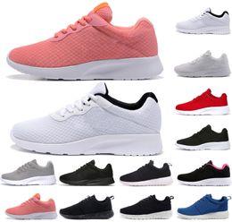 Boots shock online shopping - Classic Run Shoes tanjun Black white Mens women designer shoes London Olympic Runs mens Sport Shock Jogging Walking Hiking Athletic sneakers