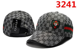 $enCountryForm.capitalKeyWord Australia - Famous Strapback Cap New Fashion Embroidery Hats with Tiger Pattern and Decor Straps Popular Golf Cap Leisure Ball Hat High Quality Dad Hat