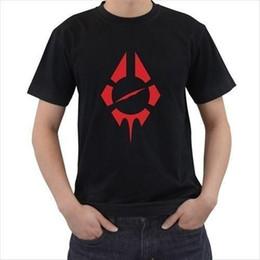 Maglietta nera su ordinazione di T-Shirt di vendita del manicotto del bicchierino del marchio di RADIO BIRDMAN sulla maglietta nera su ordinazione di trasporto libero in Offerta