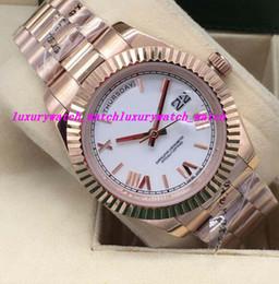 Brand Luxury Style Watch Australia - Luxury Watches 2 Style Roman Dial Fluted Bezel 41mm Automatic Fashion Brand Men's Watch Wristwatch