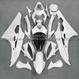 Bodywork Yamaha R6 NZ - 23colors+5Gifts Injection mold white bodywork cowl motorcycle body kit for Yamaha YZF-R6 06 07 YZF R6 2006 2007 ABS Fairing