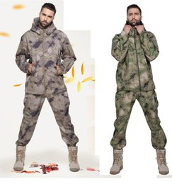 $enCountryForm.capitalKeyWord Canada - Fall-Tactical Softshell Men Army Sport Waterproof Hunting Clothes Set Military Jacket + Pants Camouflage Outdoor Jacket Suit