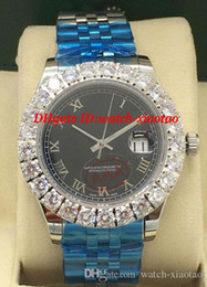 $enCountryForm.capitalKeyWord Australia - Luxury Watch 3 Style Mens 44mm Roman Dial Bigger Diamond Bezel Sapphire Automatic Fashion Brand Men's Watch Wristwatch