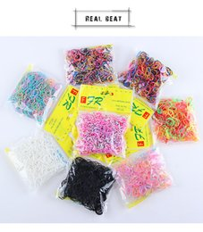 Gum Hair Australia - Wholesale free shipping 2018 hot Baby Girls Ponytail Holder Ring Elastic Hair Bands Disposable Rubber Bands Tie Gum Kids Hair Accessories