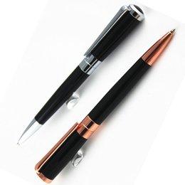 Alta Qualidade MONTE MONTAGEM 2 Cores Papelaria Presente de Negócios canetas Suprimentos de Escritório de luxo de metal escrita novidade canetas esferográficas
