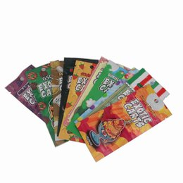Oil candy online shopping - Wax Oil Atomizer Zipper Plastic Carts Packaging Mylar Bag Colored Candy Bag With Zip Lock Packing Bags For ml AC1003 Vape Carts