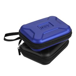 """hard drive case bag 2019 - EVA Shockproof 2.5 inch Hard Drive Carrying Case Bag Pouch 2.5"""" External HDD Power Bank Accessories Hand Carry Trav"""