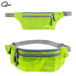 $enCountryForm.capitalKeyWord Australia - ISKYBOB Waterproof Belt Bum Fanny Pack Zip Bag Waist Pack Pouch Nylon Waistband for accessory