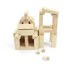 Number Blocks UK - 54 Block Children Creative & Mathematic Ability Training & Develope Educational & Funny Number Building Blocks Intelligent Toy Bricks