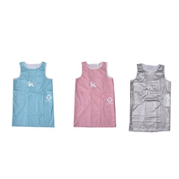 Beauty dress clothes online shopping - 3 Color Sleeveless Pet Apron Beauty Gown Pet Grooming Beautician Smock Waterproof Clothing Pet Store Aprons Beauty Robe Dress