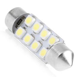 Acura Autos Australia - Festoon led 8SMD 31mm 36mm  39mm   42mm LED 1210 3528 Car Auto Interior dome light 8LED SMD Light led Dome Lamp