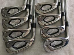 Clubs de golf gaucher AP3 718 Golf Fers forgés AP3 718 Set de fer 3-9Pw (8PCS) Tige en acier Flex R / S avec cache-tête