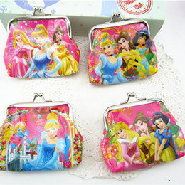 12PCS Happy Birthday Party Decoration Kids Return Gift Souvenir Princess Coin Bag Baby Shower Favor