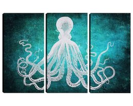 $enCountryForm.capitalKeyWord Australia - New Modern Art Octopus Canvas Art Large Size Hand Painted Oil Painting For Home Decoration Gift
