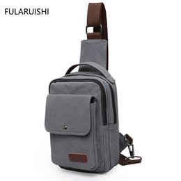 $enCountryForm.capitalKeyWord UK - New motorcycle hip bag shoulder messenger crossbody business mens cell phone chest pack pouch bags for men canvas tote sling bag