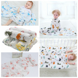 infant stroller cover 2019 - 115*115cm 22 Styles Bamboo Cotton Baby Blanket Muslin Swaddle Wrap Soft Thin Newborn Blankets Infant Stroller Cover Play