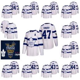 d55c0691158 2018 Stadium Series Toronto Maple Leafs Mens 43 Nazem Kadri 16 Mitch Marner  34 Auston Matthews 29 William Nylander Hockey Jerseys Stitched