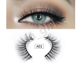 $enCountryForm.capitalKeyWord Canada - Style A 3D Mink False Eyelashes 100% Natural Soft Curl Genuine Siberian Mink Hair Handmade Luxury Fashion Fake Lashes
