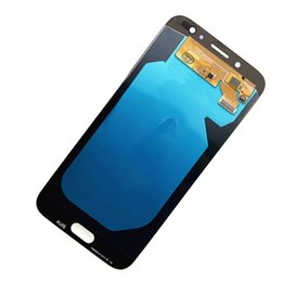 Samsung Galaxy Lcd UK - SUPER AMOLED J730 LCD For SAMSUNG GALAXY J730 LCD J7 Pro 2017 Display J730F SM-J730F LCD Displa Touch Screen Digitizer Assembly Replacement