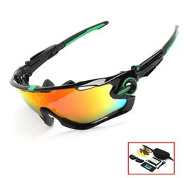 8c4786269f80 2018 Polarized Brand Cycling Sunglasses Racing Sport Cycling Glasses  Mountain Bike Goggles Interchangeable 3 Lens Jawbreaker Cycling Eyewear
