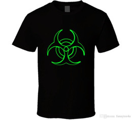 Radiation Clothes NZ - Biohazard Toxic Waste Radiation T Shirt Mens Tee Clothing Fan Gift New From US Hot New 2018 Summer Fashion T Shirts