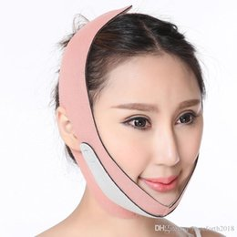 face slimmer mask UK - Hopeforth Face Lift Up Belt Thin Face Mask Slimming Facial Massager Double Chin reducer Shaper Bandage
