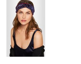 Designer Elastic Headbands for Women 2018 New Luxury Brand Letter Cross Turban hairband Streetwear Hair Jewelry Gift