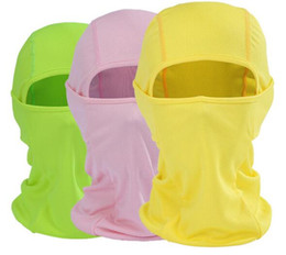 Head masks online shopping - 11 Colors Cycling Masks Motorcycle Hat Cycling Caps Outdoor Sport Ski Mask CS Windproof Dust Head Sets Tactical Mask CCA10276