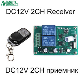 $enCountryForm.capitalKeyWord NZ - 433Mhz Wireless RF Switch DC12V Relay Receiver Module and 433 Mhz Remote Controls For DC Motor Forward and Reverse Controller
