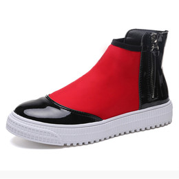 Wholesale Waterproof Women Ankle Boots Candy Colors Platform Women Rain Boots Shoes Woman Flat Shoes Creepers Colors
