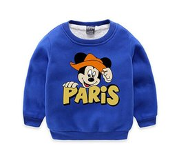 China CC2018 new cartoon design children's winter wear plus velvet sweater baby boy's warm clothes factory price direct selling supplier velvet clothes design suppliers