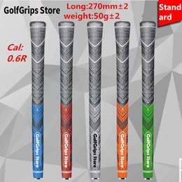 Großhandel 2016 neue farbe auf verkauf golf griffe plus 4 griffe 3 farben Multi Compound standard und mittelgroße 13 / lot golfclubs tour