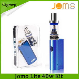 gold kanger subox Australia - Jomo Lite 40w 3ML Vapor Tank E Cigarette Kits Box Mod Lite 40w vapor mod kit VS Kanger subox MINI Kit