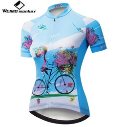 Cycling Jersey Women Bike Shirt 2018 Pro Road MTB Bicycle Clothing Short  Sleeve Ropa Ciclismo Female Maillot Racing Top Blue 399730b1f