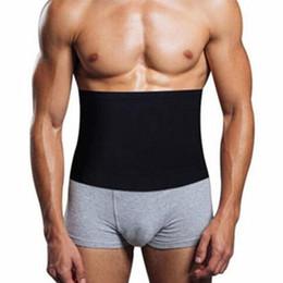 67b2cfcad56 Hot Mens Absorb Sweat Compression Body Shapers Belt Newest Waist Cinchers  Waist Slimmin Fat Burning Underwear Slim Corsets