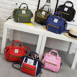 Casual Canvas Women Backpack Red NZ - 2018 New Casual Backpack Handbag Sport Japan anellos Camouflage Outdoor Packs Women Unisex Zipper Canvas Fashion School Bag