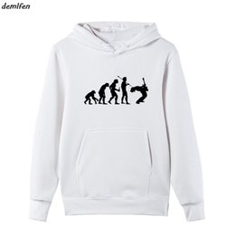 Cool Sweatshirt Jackets Australia - Evolution Rock Music Funny Hoodie Hip Hop Print Men Fleece Casual Cottun Sweatshirt Cool Jacket Tops harajuku