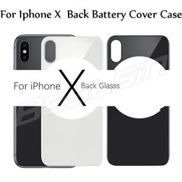 $enCountryForm.capitalKeyWord NZ - Glass Cover For IPhone X Plus Back Battery Cover Rear Door Housing iPhone8 Replacement Parts For iPhone X