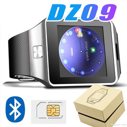 Smart Watch Iphone Android Australia - Bluetooth Smart Watch DZ09 For Apple Watch Android Smartwatch For IPhone Samsung Smart Phone With Wamera Dial Call Answer Free DHL
