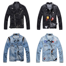 TurTle chain online shopping - Jackets Denim Summer Men s Denim Causual Fashional For women Jean Clothing Skate Board Jogger Ankle Ripped Wave M XL