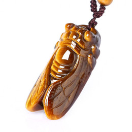 Tiger Eyes Pendant Australia - The Natural Tiger Eye Stone Knows The Pendant Male and Female.