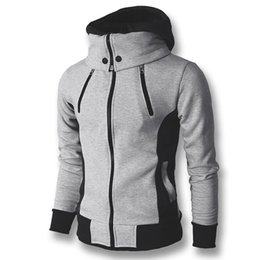 $enCountryForm.capitalKeyWord UK - 2018 Men Hoodies Sweatshirts Coats Hooded Jackets Men's Casual Fashion Slim Fit Hoodies Zipper Cloak Sudaderas Hombre Sportswear