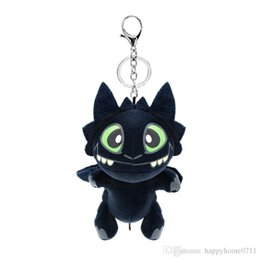 $enCountryForm.capitalKeyWord Canada - 20cm Keychain pendant Night Fury Plush Toy How To Train Your Dragon 2 Toothless Dragon Stuffed Animal Dolls