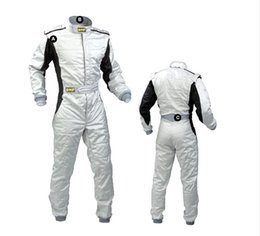 ski race suits NZ - 2017 omp new arrivel car racing suit one piece coverall sports clothing polyester fit men and women not fireproof