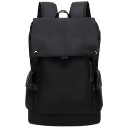 waterproof laptop back pack Australia - Fashion Men High Quality Waterproof Backpack Travel Casual Laptop Back Pack Schoolbag Student Computer Bags Bagpack for Boy