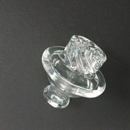 Turbine cyclone bong online shopping - Quality Riptide Turbine Carb Cap Clear Borosilicate Glass Spin Cyclone Riptide Carb Cap fit Quartz Banger with Terp Pearls for Bong Dab Rigs