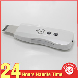 Led devices for skin online shopping - Ultrasonic Skin Scrubber for face lift Deep Cleansing Whitening Lead in Nutrition Remove Acne Skin Care Beauty Device skin peels